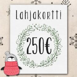 Lahjakortti 250€