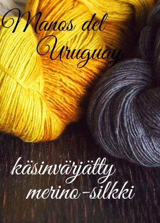 manos de uruguayfino merino silkki
