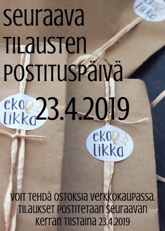 ekolikka postituspäivä